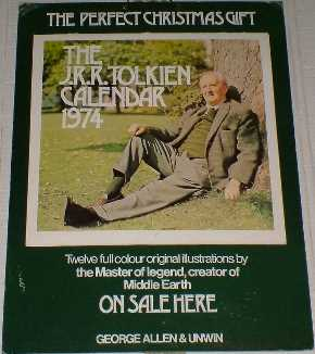 Promotional Display for the 1974 Tolkien Calendar
