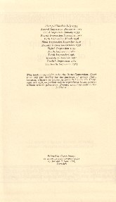 The Fellowship of the Ring - Deluxe Edition 1964 - Verso of Title Page
