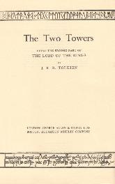 The Two Towers - Deluxe Edition 1964 - Title Page