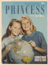Princess and Girl. 5 December 1964