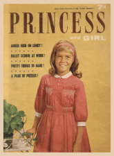 Princess and Girl. 14 November 1964