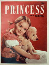 Princess and Girl. 7 November 1964