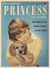 The New Princess and Girl. 24 October 1964