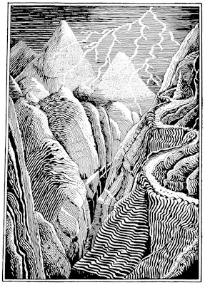 The Mountain-path by J. R. R. Tolkien