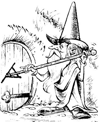Gandalf by Ferguson Dewar - 10 October 1964