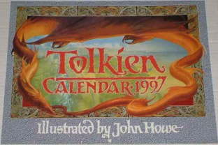 Tolkien Calendar 1997. Issued shrink-wrapped