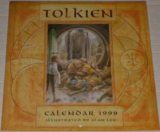 Tolkien Calendar 1999. Issued shrink-wrapped