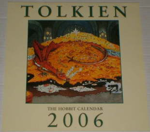 Tolkien 2006 - The Hobbit Calendar. Issued shrink-wrapped