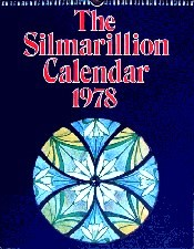 Silmarillion Calendar 1978. Calendar - Issued in a card mailing envelope