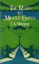 The Road to Middle-earth. 1982. Hardback in dustwrapper.