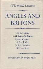 Angles and Britons. 1963. Hardback in dustwrapper.