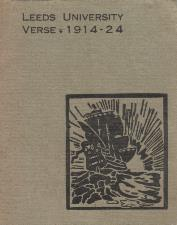 Leeds University Verse 1914-1924. Booklet.