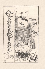 Exeter College Smoker. 1913. Programme.