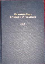 Times Literary Supplement 1923. Reprint. Hardback.