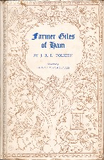 Farmer Giles of Ham. 1949. Hardback in dustwrapper.