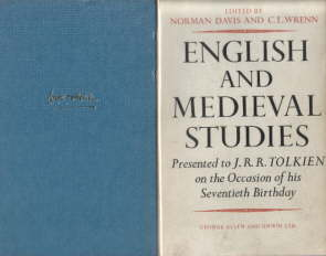 English and Medieval Studies. 1962.