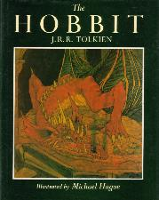The Hobbit. 1984. Hardback in dustwrapper.