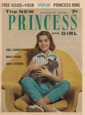 The New Princess and Girl - 10 October. Magazine.