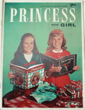 Princess and Girl - 12 December. Magazine.