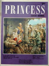 Princess and Girl - 26 December. Magazine.