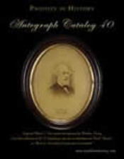 Autograph Catalog 40. 2005. Dealer�s catalogue.