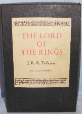 The Lord of the Rings. 1974. Hardback. Issued in a box.