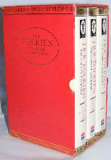 The Lord of the Rings. 1991. Hardbacks - Issued in a slipcase