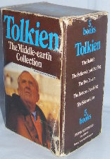 The Middle-earth Collection. 1979. Paperbacks. Issued in a box.