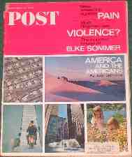 Saturday Evening Post. 1966. Magazine.