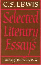Selected Literary Essays. 1969. Hardback in dustwrapper.