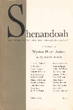 Shenandoah. 1967. Journal/Magazine.